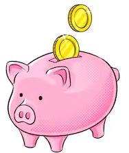 Money matters pig